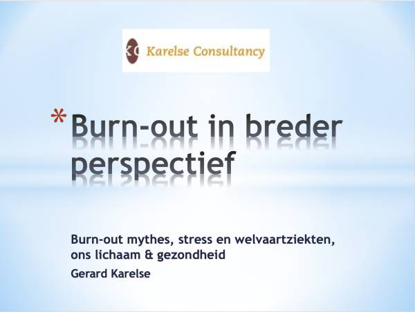 Burn-out breder perspectief